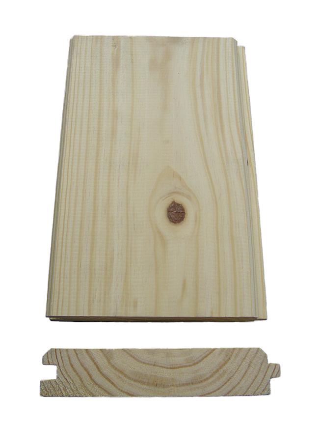 White Pine Barn Siding and Yellow Pine T&G Lumber