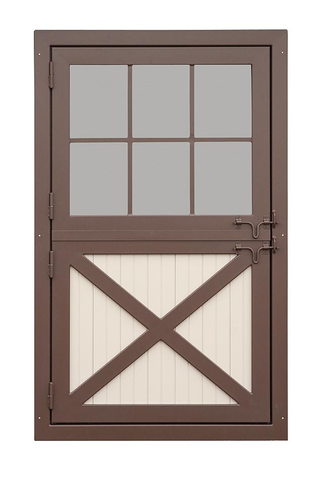 Aluminum Dutch Door With Window