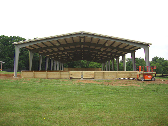 Indoor Riding Arenas | Horse Arena Construction