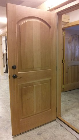 Prehung Cedar Entry Door