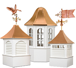 Cedar cupolas azek maintenace free cupolas for Cupola plans pdf