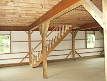 Custom Barn Interior