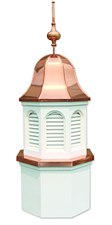 Cupola with Bell Shaped Roof