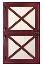 4'x7' Aluminum Dutch Door