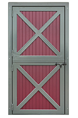 4'x8' Aluminum Dutch Door
