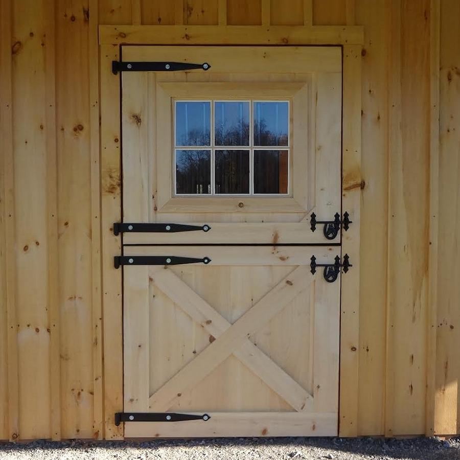 Pine Dutch Door With Window