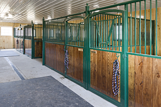Free Standing Horse Stall