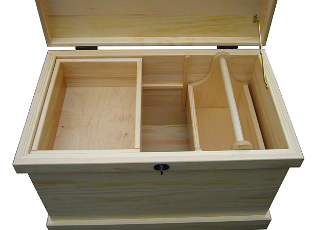 how to build wooden trunk car