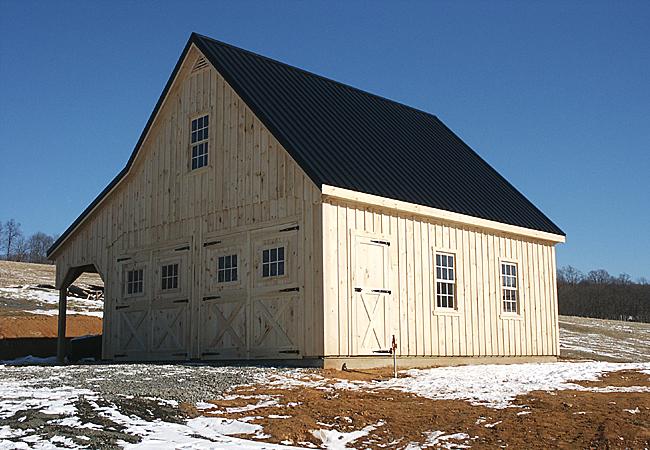Custom Built Rustic Oak Framed Barns Amp Car Garages