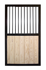 Wooden Stall Door with Grill