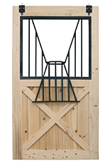 Wooden Stall Door with Yoke