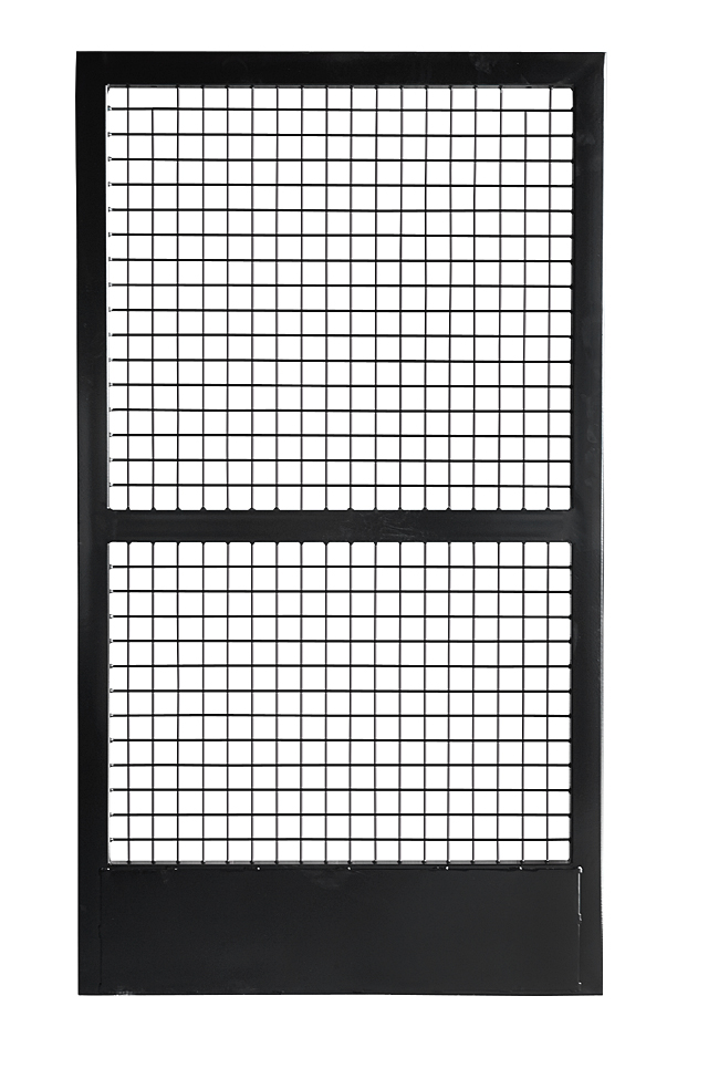 Stall Door with Wire Mesh