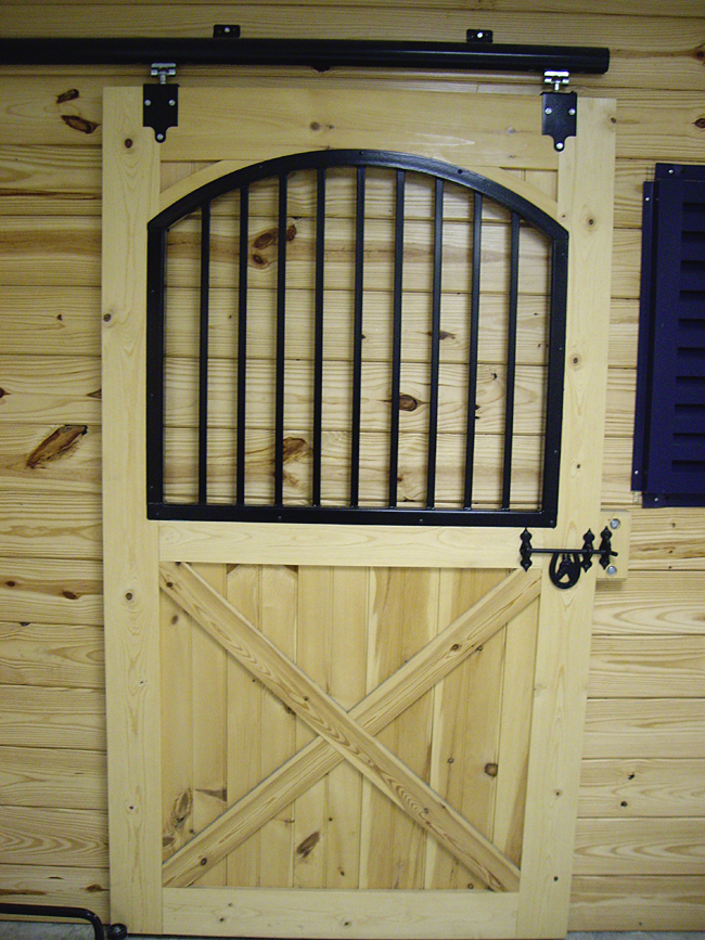 Wooden Stall Door with Arched Top : stall door - Pezcame.Com