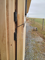 Dutch Door Chew Guard or Cribbing Angle