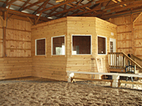 Indoor Arena Viewing Room