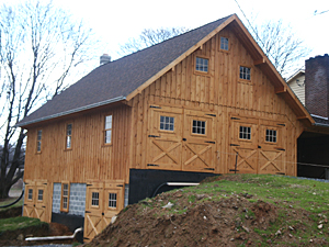 Wooden Bank Barn