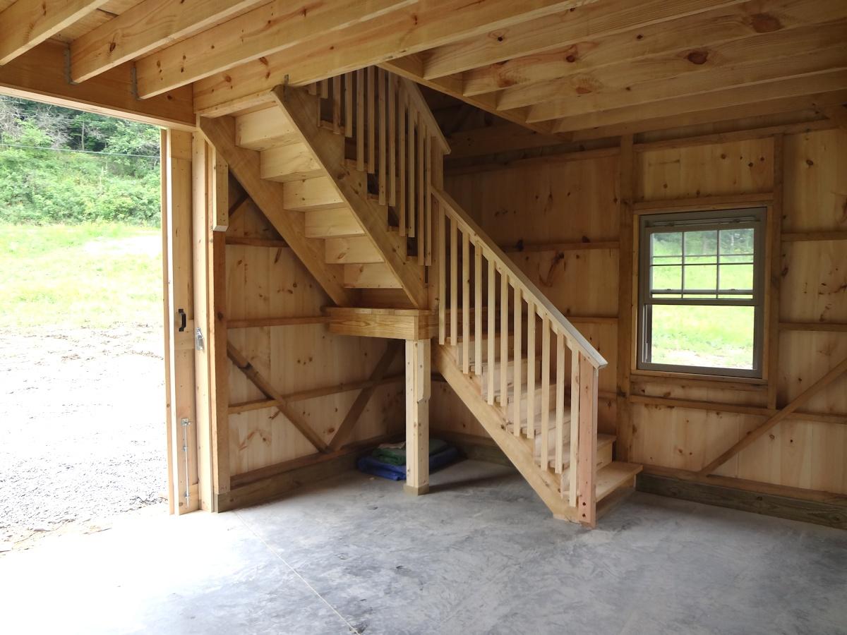 Custom Crafted Wooden Barn Garage