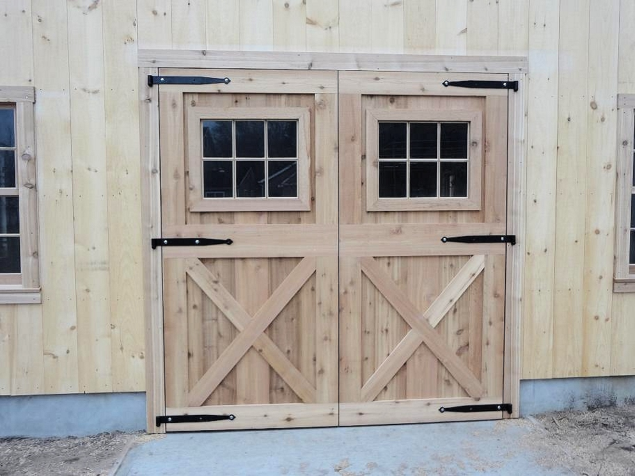 Custom Built Wooden Amp Aluminum Barn Doors Dutch Exterior