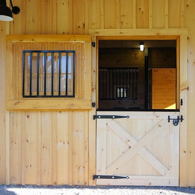 Horse barn doors dutch doors by CMI Horse Stalls and Equipment Factory Direct Made in the USA