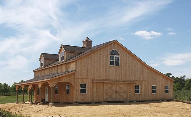 Wood 2 Story Pole Barn Kits Joy Studio Design Gallery