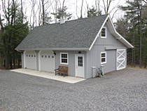 Custom barn gallery images of garages barns for 28x36 garage