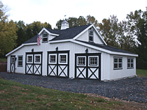Custom Barn Garage