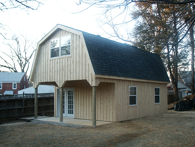 Barn Car Garage With Art Studio