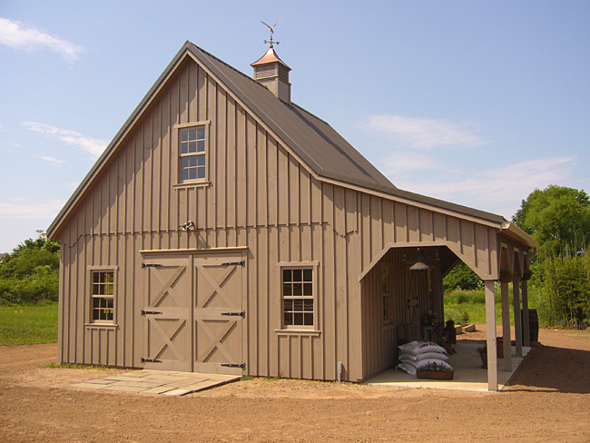 Custom storage barn for Small barn ideas