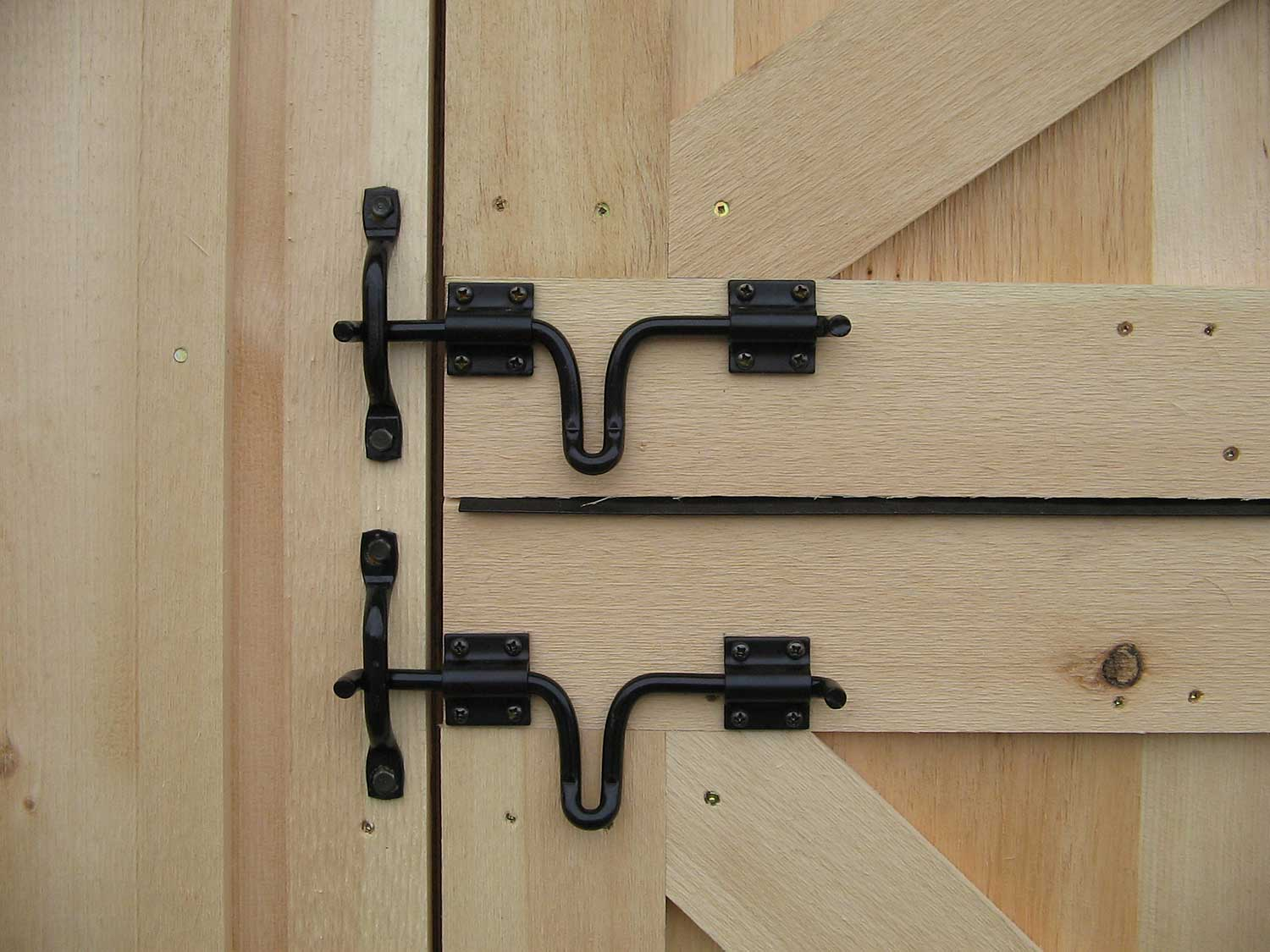 Barn Door Drop Latch Gate Latch