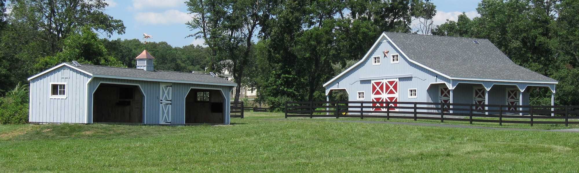 Horse Sheds and Barns