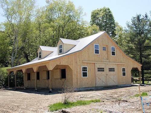 Provider of Amish Built Horse Barns, Sheds & Barn Supplies