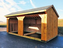 Two Bay Shed For Horses