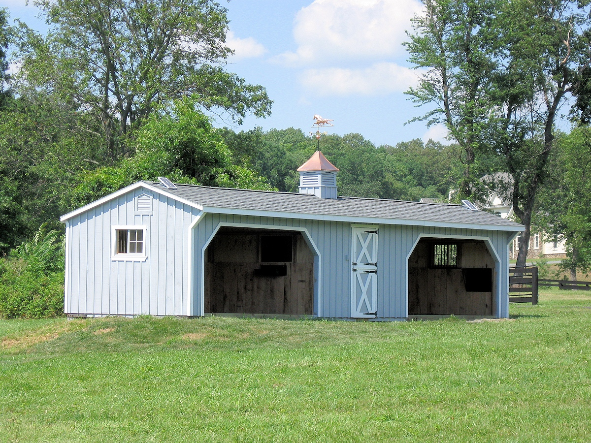Run In Sheds Affordable Horse Sheds From Pa