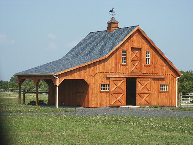 Barns barn homes and will have on pinterest for House horse barn plans