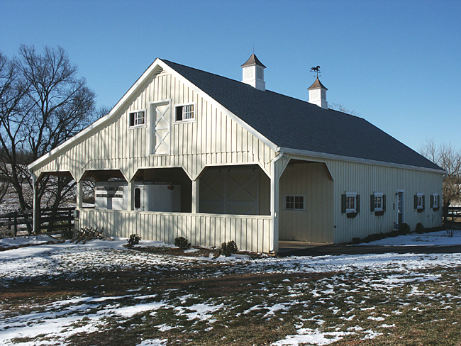 Barn Overhang Plans Polans