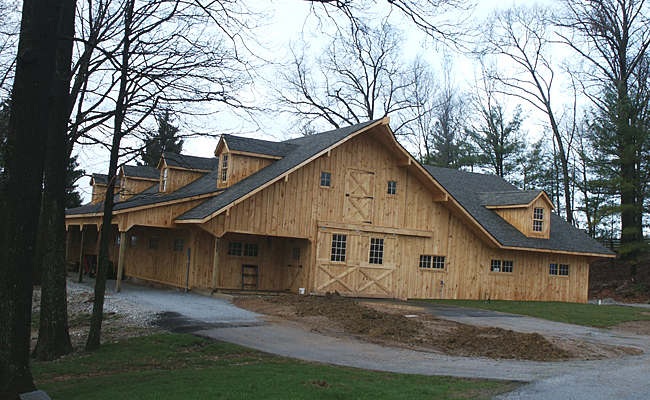 Horse Barns | On Site Built Horse Stables