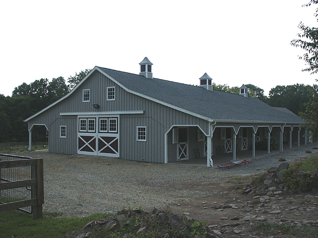 Equine Boarding Facility Stable