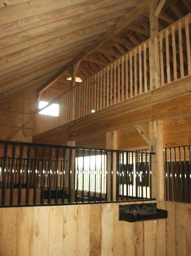 Inside Horse Barn horse barn interior images & horse stalls