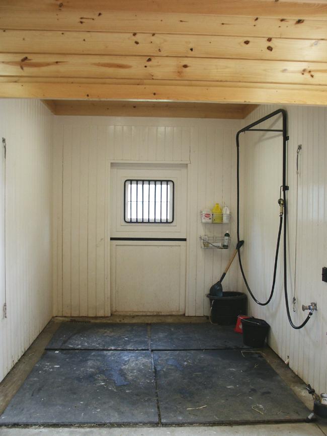 Wash Stall Horse Barn