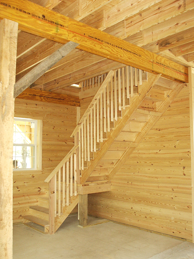 Loft Stairs In Horse Barn
