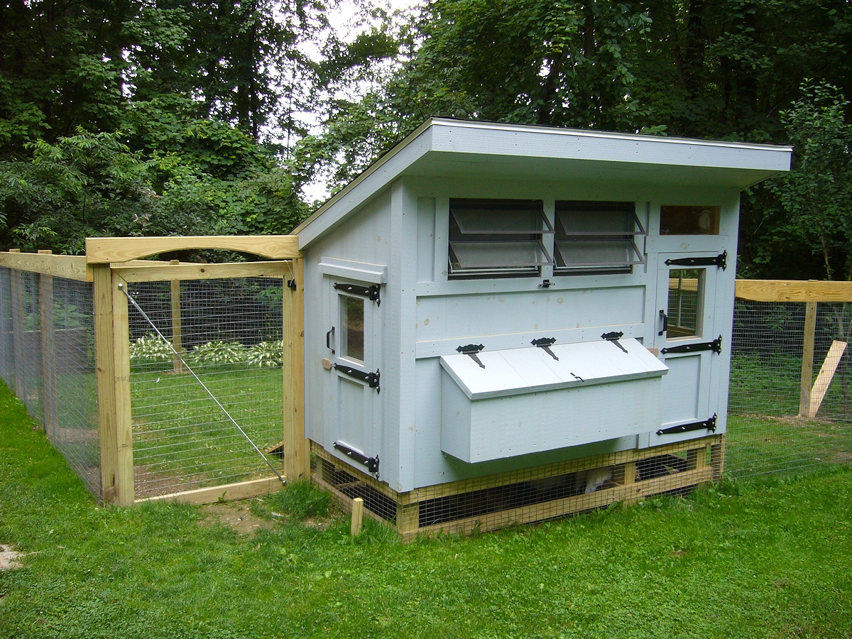 Keystone custom built chicken coops for Free coop plans