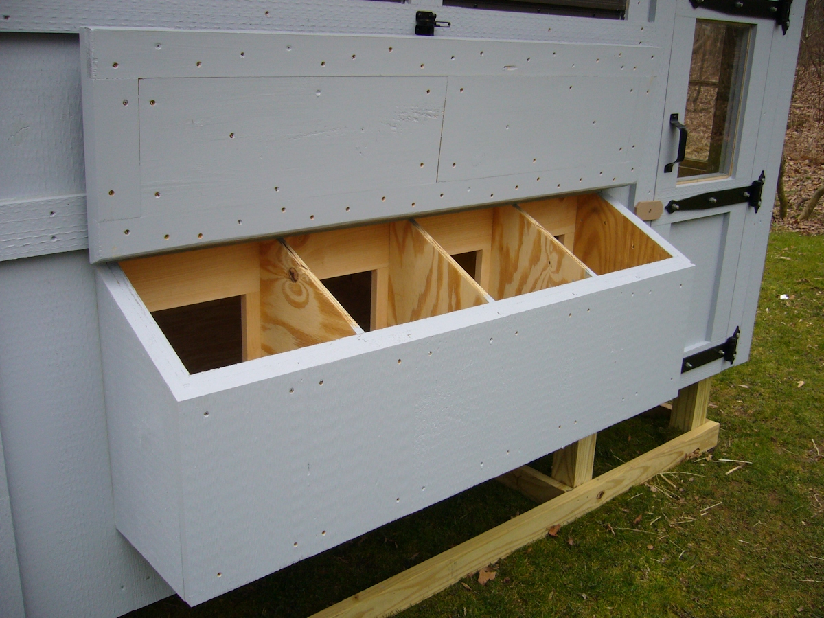 Keystone Custom Built Chicken Coops