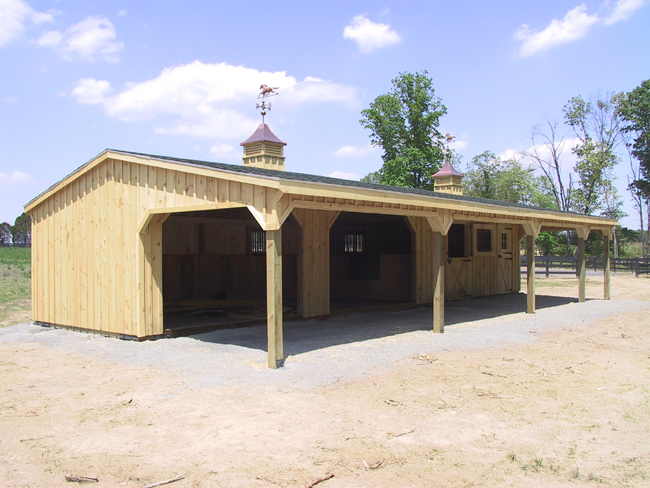 Shed Horse Barn