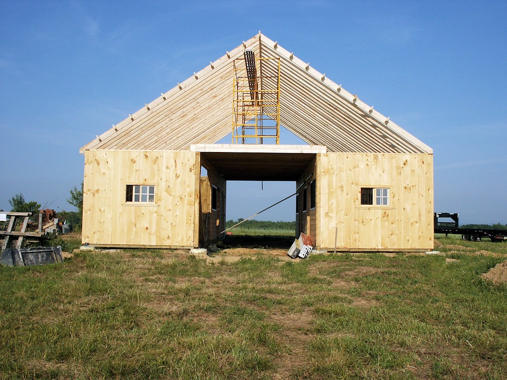 Modular Horse Barn Construction Images