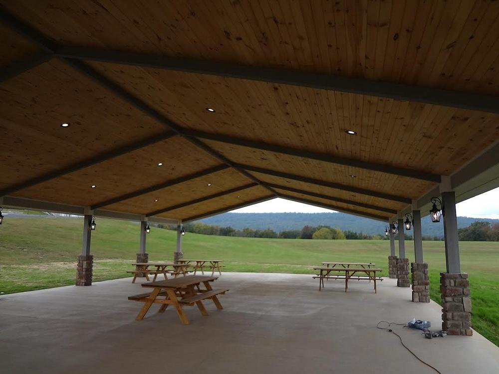 Custom Built Outdoor Pavilions Pa Pavilion Contractors
