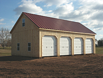 Farm Equipment Storage Barn