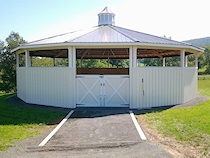 Completely Built Horse Round Pen