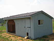 Run In Shed with Storage Room