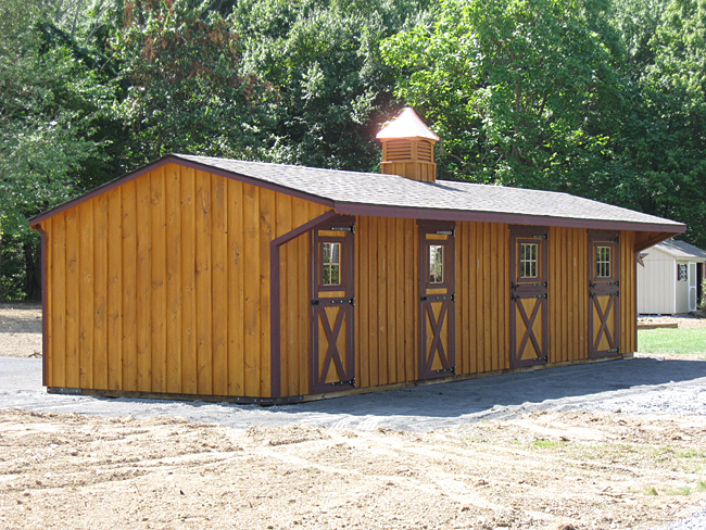 12x38 Shed Row Barn