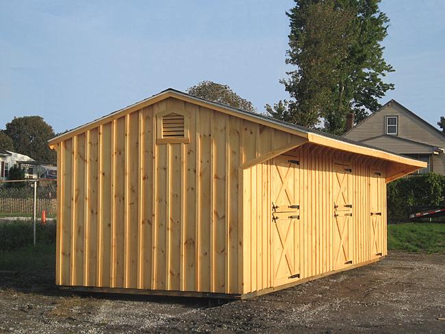Portable Horse Barns : Portable shedrow barn horse